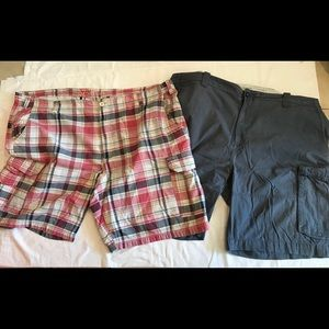 2pr Big&Tall Shorts, sizes (48 & 50) Waist